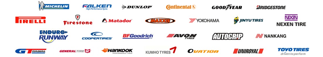 Range of Tyre Brands
