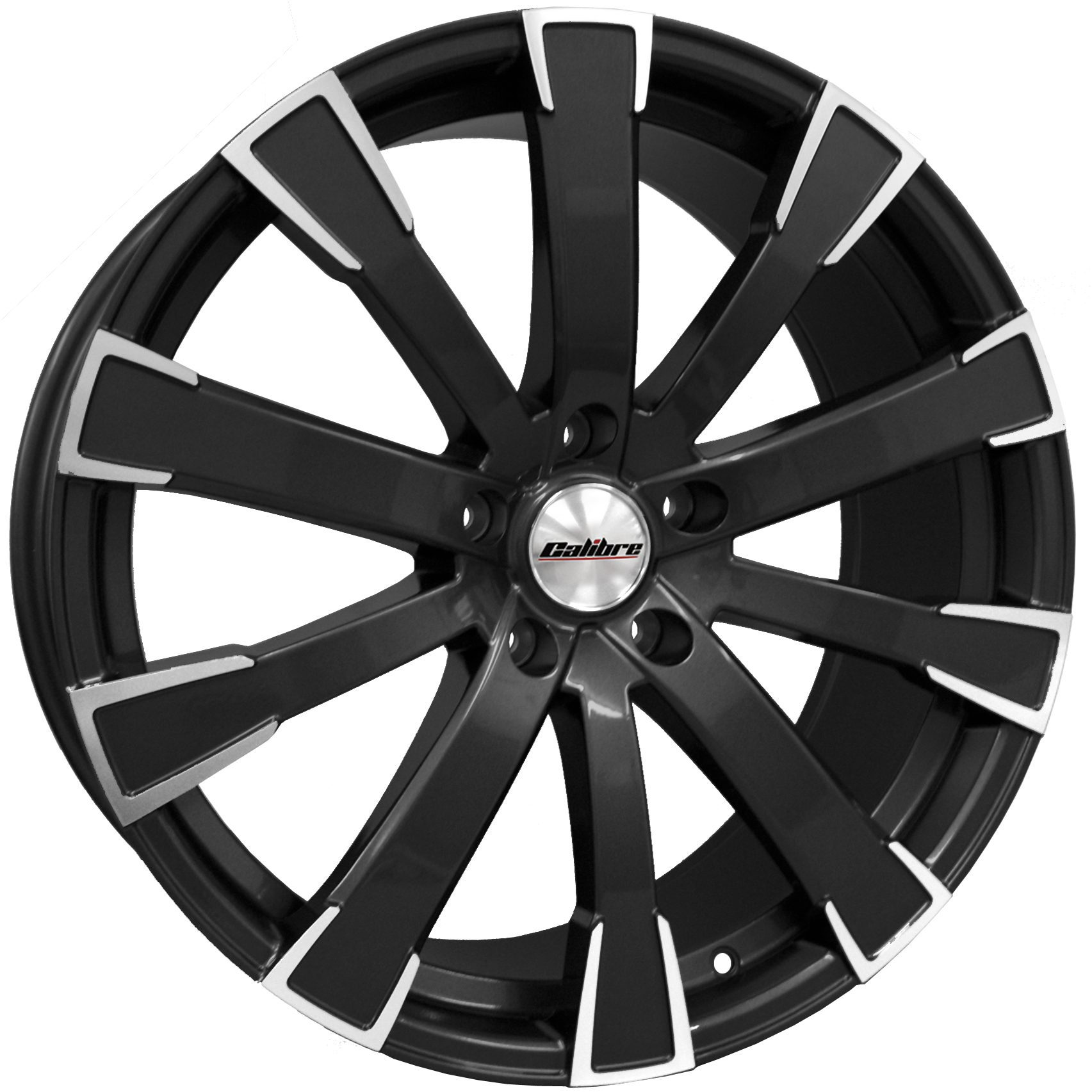 "Rim Calibre Manhattan 8.5x20"" Black Polished Face 5x120 ET45"