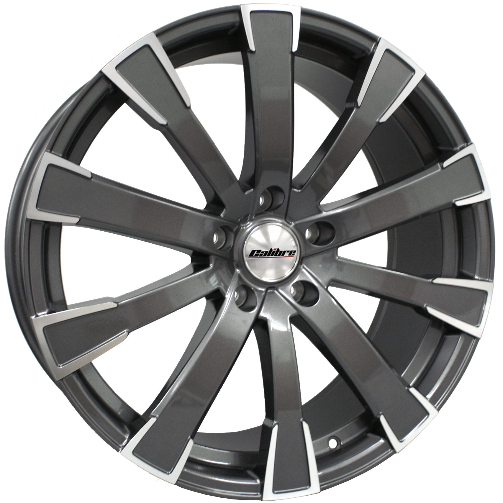 "Wheel Calibre Manhattan 8.5x20"" Gunmetal Polished Face 5x120 ET35"