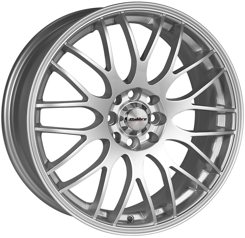 "Wheel Calibre Motion Silver 7x17"" Silver 4x100~4x108 ET40"