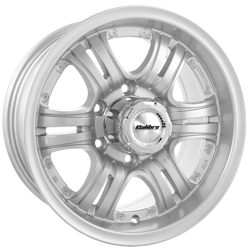 "Wheel Calibre Terrain 8x16"" Sparkle Silver 6x139,7 ET20"