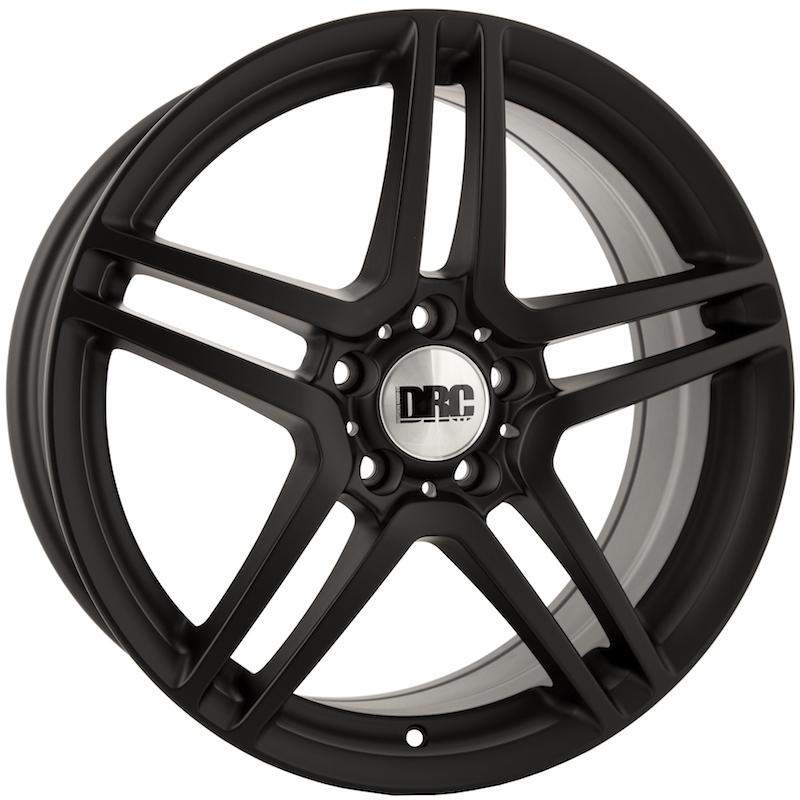 "Cerchione DRC DMG 8x18"" Matt Black 5x112 ET45"