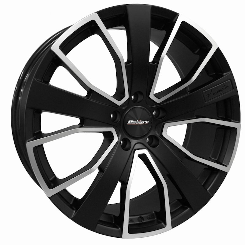 "Rim Calibre Kensington 8.5x20"" Matt black/polished face 5x120 ET45"