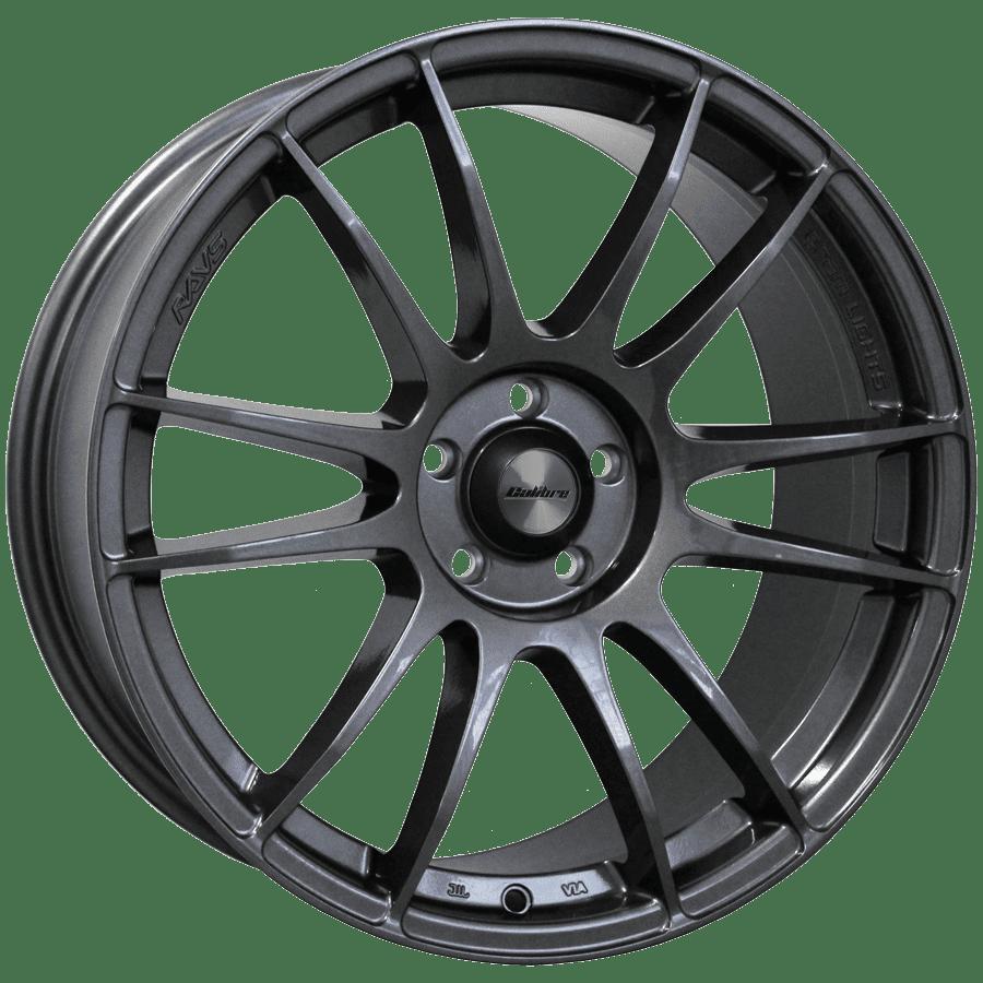 """Wheel Calibre - Suzuka 7.5x17"""" (Gunmetal) ET45 5x108 73"""