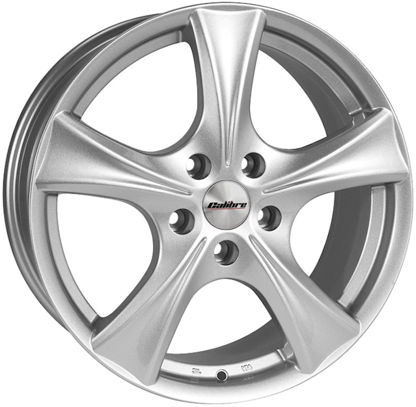 "Wheel Calibre Trek 6.5x16"" Silver 5x120 ET55"