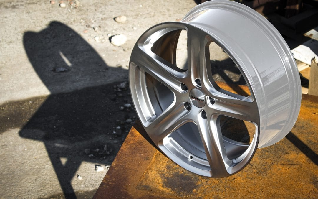 New Calibre Tourer load rated alloy wheel now in stock!