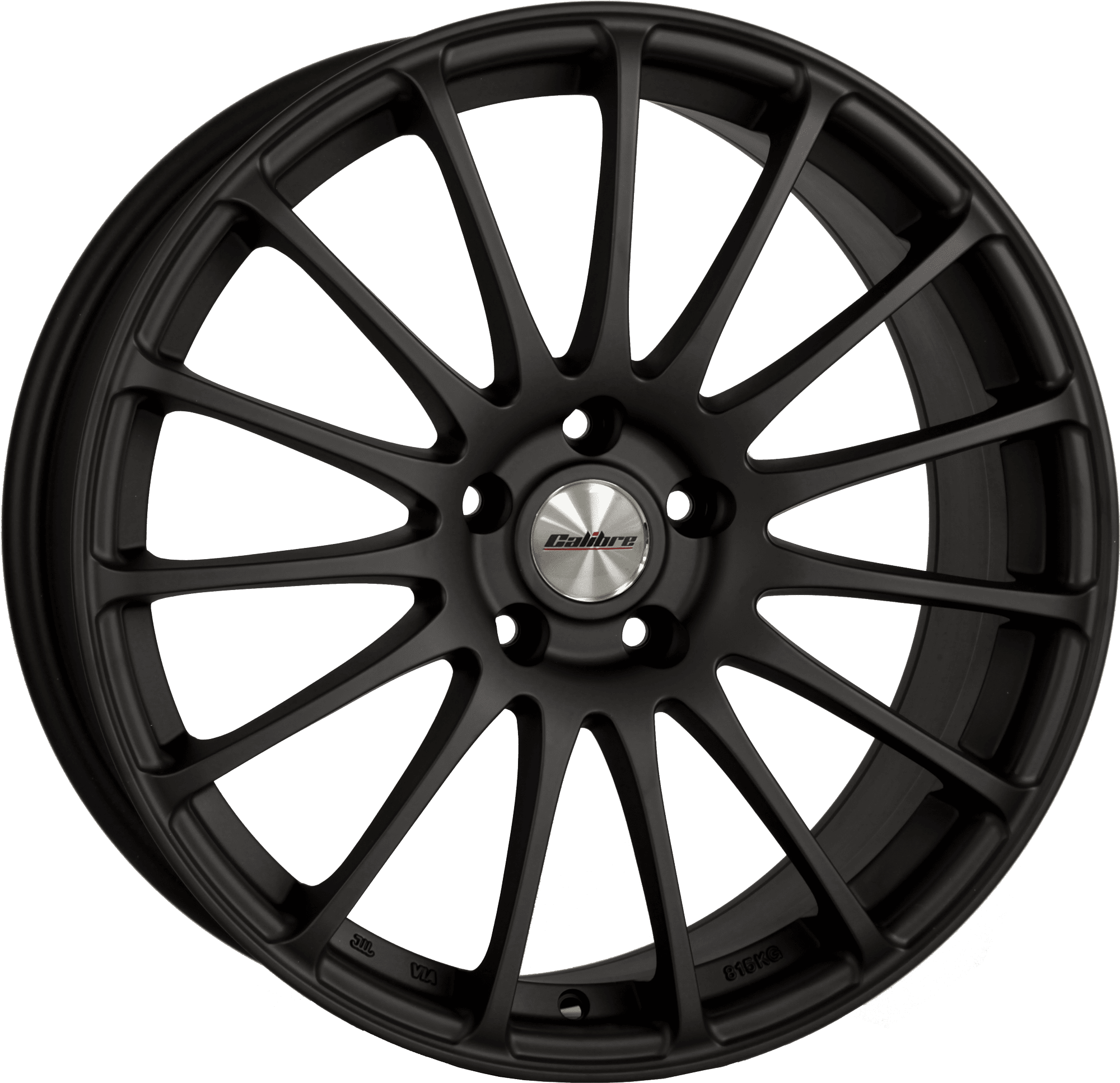 Calibre Rapide Matt Black Alloy Wheel