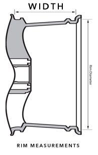 Alloy Wheel width