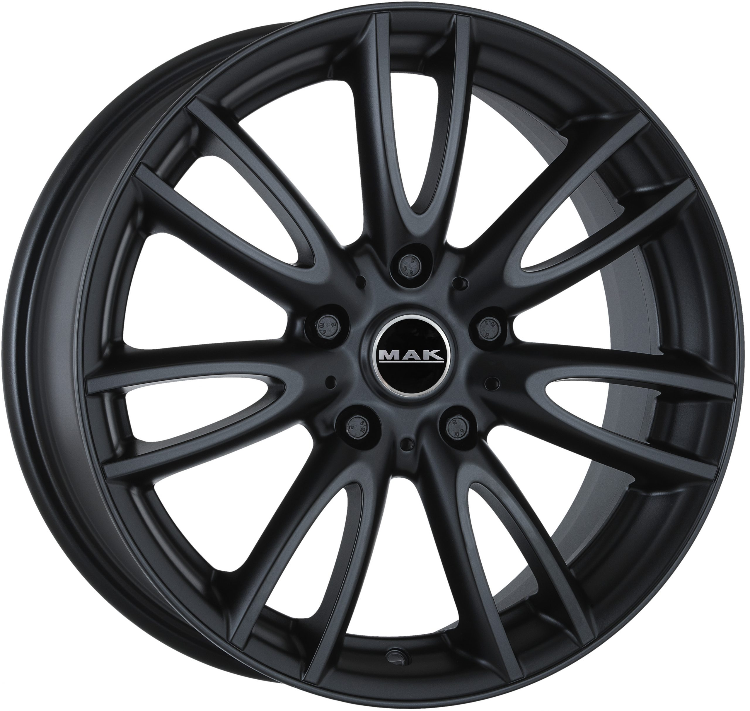 Mak Jackie W Mat Black Wheelwright Alloy Wheels