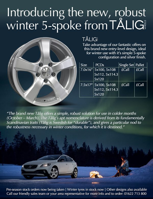 Talig Winter Wheels & Tyres 2014