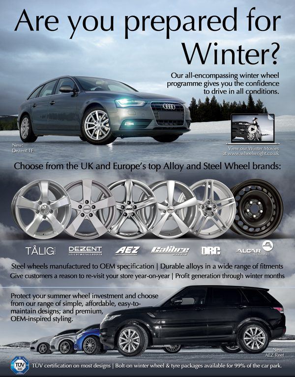 Wheelwright Winter Wheels & Tyres 2014