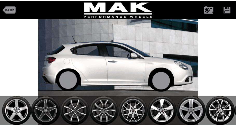 Car Wheel App >> New Style And Functionality For Mak Alloy Wheels App Wheelwright