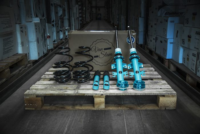 Wheelwright bring '5Forty' suspension range 'Van Slam' to the UK