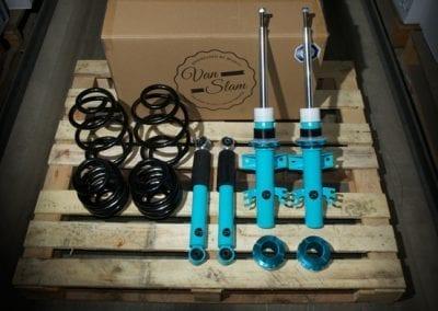 Van Slam Coilover Suspension kit lowering T5 T6 VW