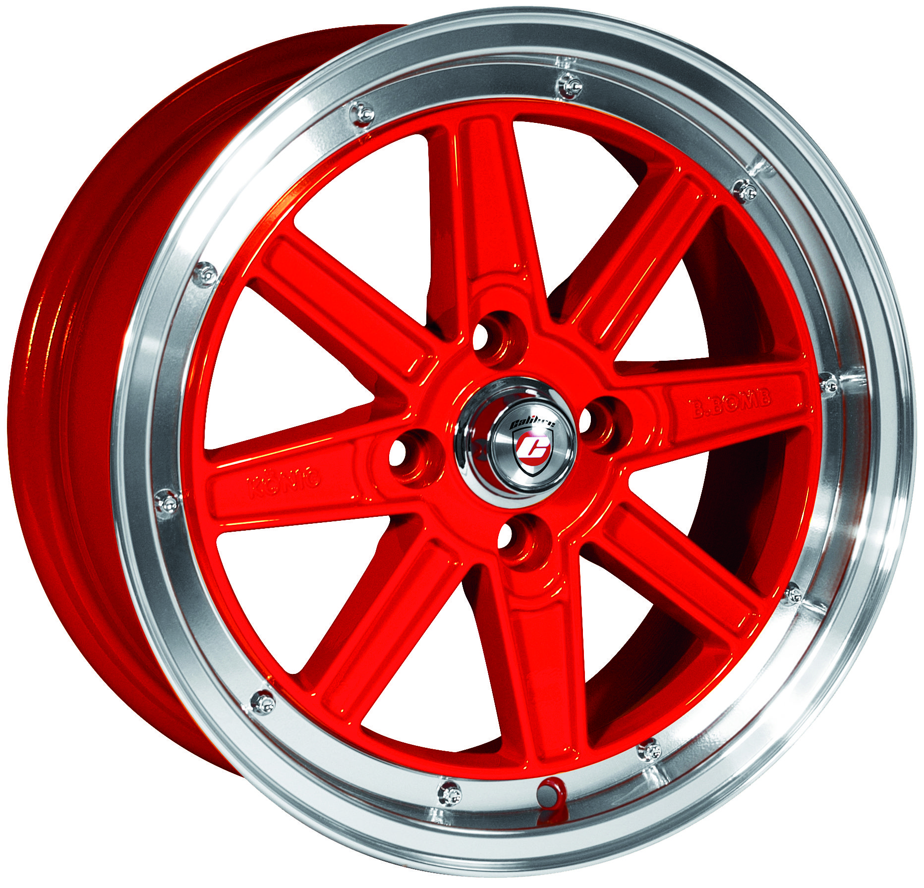 Calibre - Bomb (Red Polished Lip) - Wheelwright - Alloy ...