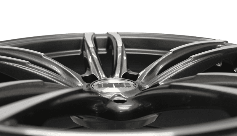 New DRC DMF OEM-inspired alloy wheel now available in Gunmetal/Polished
