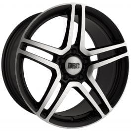 DRC DMG Black Polished Alloy Wheel