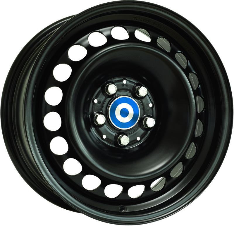 Alcar Stahlrad - Steel Wheel (Black / Silver)