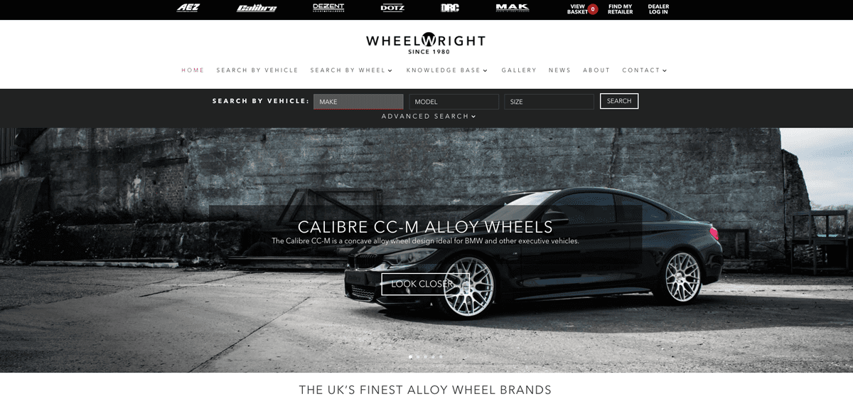 Wheelwright launch new and improved alloy wheel website