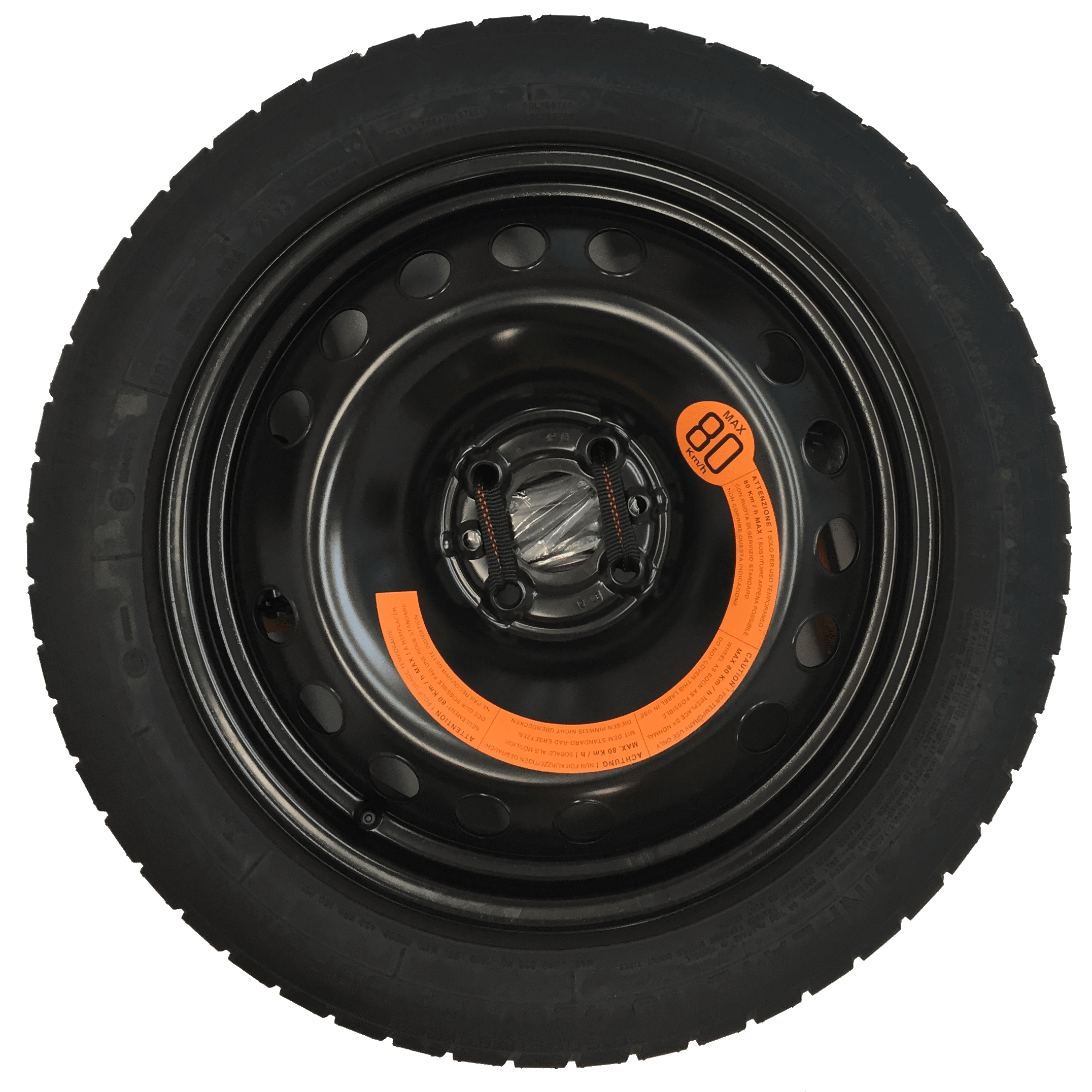 Space Saver Spare Wheel and Tyre
