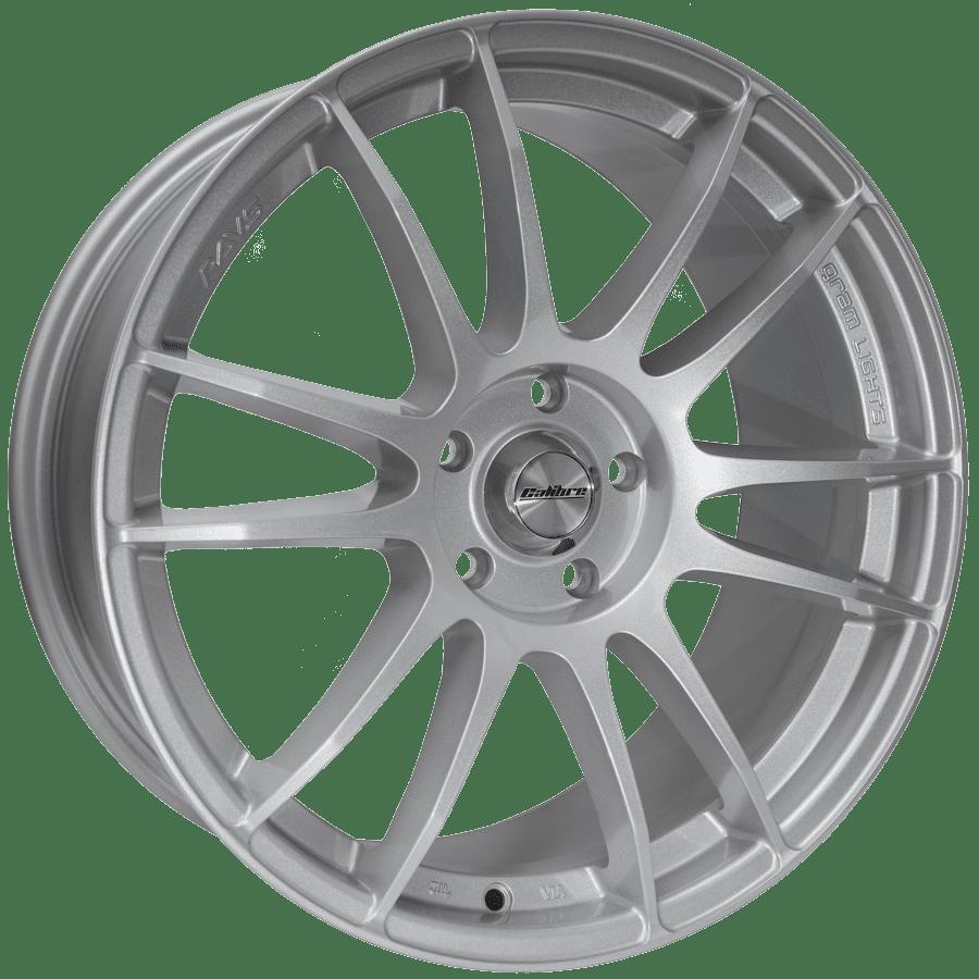 Calibre Suzuka Silver Wheelwright Alloy Wheels