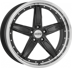 Dotz - SP5 Dark (Gunmetal / Polished Lip)