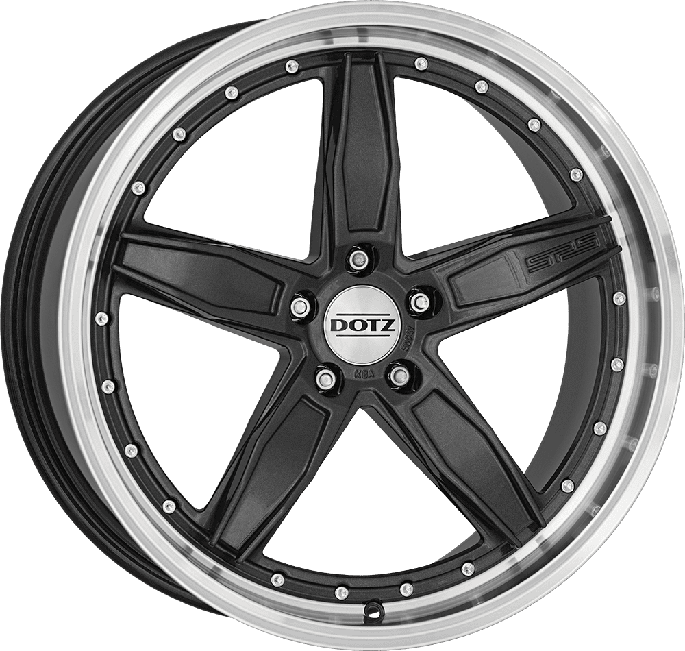 Dotz - SP5 Dark (Gunmetal / Polished Lip)
