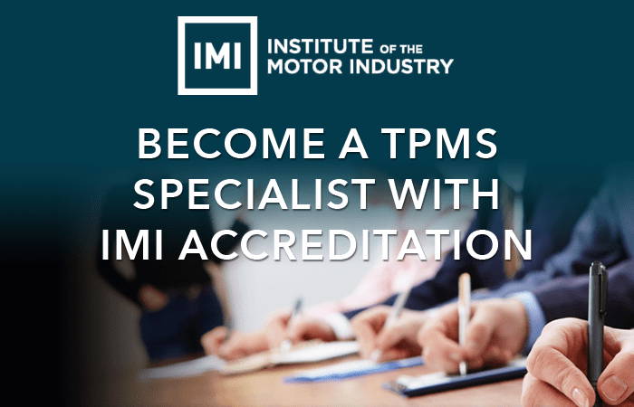 IMI Accredited TPMS Training now available