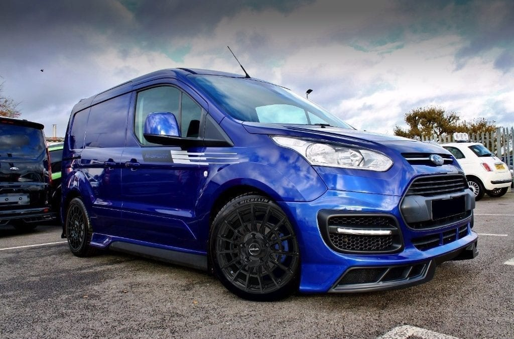 Wheelwright unveil the new Calibre T-Sport alloy wheel for Ford Transit Connect.