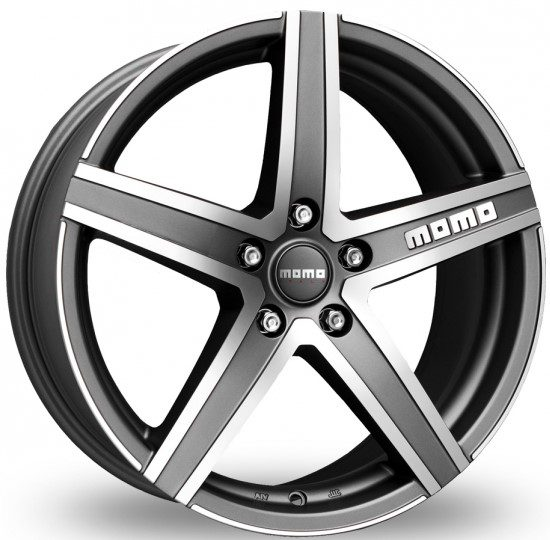MOMO - Hyperstar Evo (Matt Anthracite Polished)