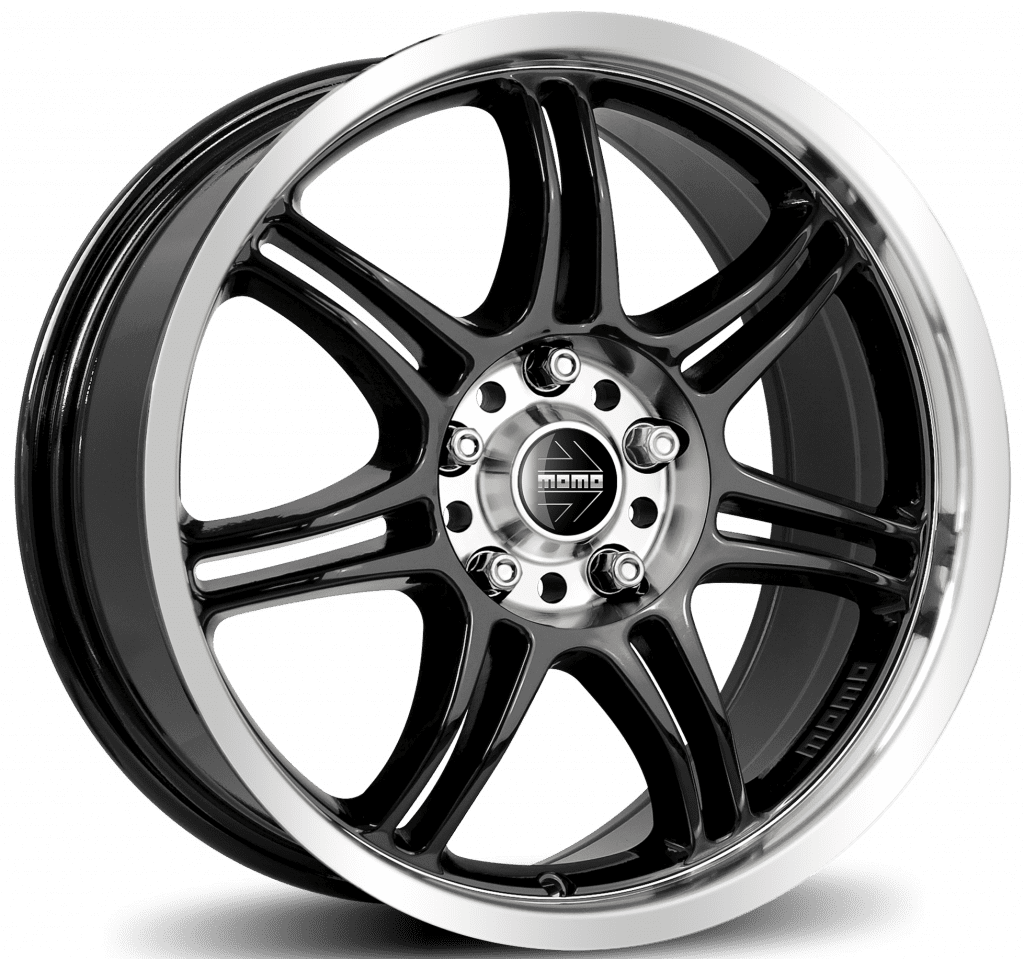 MOMO - RPM Evo (Glossy Black Polished)